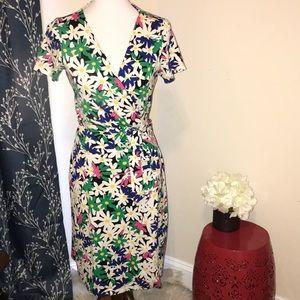 Diane Von Furstenberg Daisy Julian Two Wrap Dress